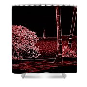 Dreams Of Getting Away Shower Curtain