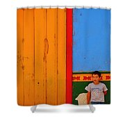 Dreams Of Kids Shower Curtain