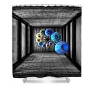 Dreams Of Shade And Light Shower Curtain
