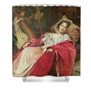Dreams Shower Curtain by Stefani Melton Fisher