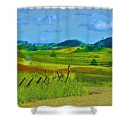 Dreamscape 2009 Shower Curtain