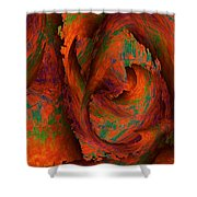 Dreamscapes Shower Curtain by Christohper Gaston