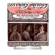 Dreamy Melody Shower Curtain