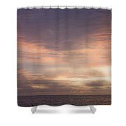 Dreamy Sunrise Over The Atlantic Shower Curtain
