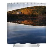 Dredge No. 4  Shower Curtain