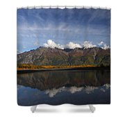 Drifting Clouds Shower Curtain
