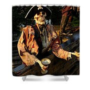 Drink To Death Shower Curtain