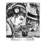 Drinking, 1875 Shower Curtain