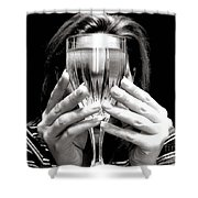 Drinks On Me Shower Curtain