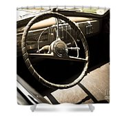 Driver's Seat Shower Curtain