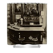 Drugstore Soda Fountain - New Orleans Shower Curtain