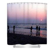 Drum Run Cape Point Shower Curtain