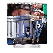 Drummer Boy Shower Curtain
