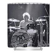 Drumming Shower Curtain