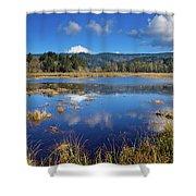 Dry Lagoon Panorama Shower Curtain