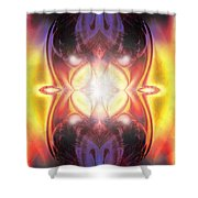 A Spirit Freed To Speak Shower Curtain