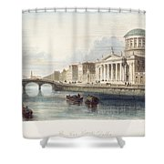 Dublin, 1842 Shower Curtain