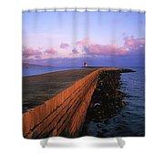 Dublin Bay, Co Dublin, Ireland East Shower Curtain