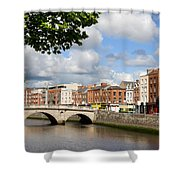Dublin Cityscape Shower Curtain