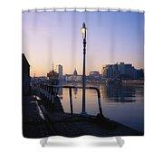 Dublin, Co Dublin, Ireland Shower Curtain