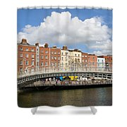 Dublin Scenery Shower Curtain