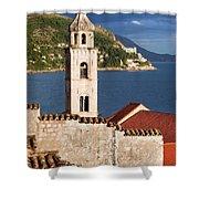 Dubrovnik Architecture Shower Curtain