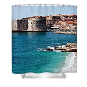 Dubrovnik Old City Shower Curtain