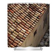 Dubrovnik Rooftop Shower Curtain