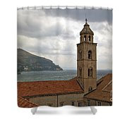 Dubrovnik View 3 Shower Curtain