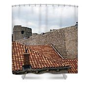 Dubrovnik View 4 Shower Curtain