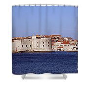 Dubrovnik View 5 Shower Curtain