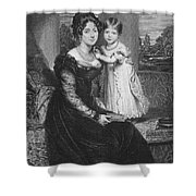 Duchess Of Kent & Victoria Shower Curtain
