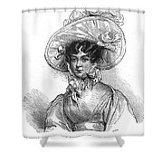 Duchess Of Kent (1786-1861) Shower Curtain by Granger