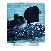 Duck Family Joy In The Lake  Shower Curtain by Colette V Hera  Guggenheim