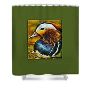 Duck Waddle Quack Shower Curtain