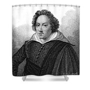 Dudley North (1602-1677) Shower Curtain