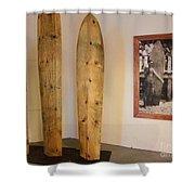 Duke Kahanamoku Surfboards Shower Curtain