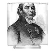 Duke Of Kent (1767-1820) Shower Curtain