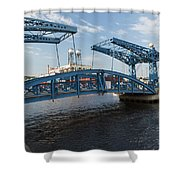 Duluth Draw Bridge 1 C Shower Curtain