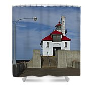 Duluth S Pierhead 24 Shower Curtain