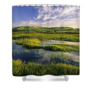 Dune Pond, Brackley, Prince Edward Shower Curtain