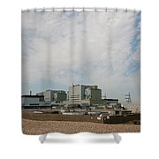 Dungeness Power Station Shower Curtain