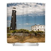 Dungeness View Shower Curtain