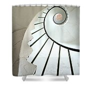 Dunmore East, County Waterford, Ireland Shower Curtain