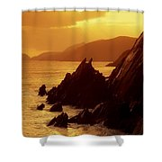 Dunmore Head, Dingle Peninsula, County Shower Curtain
