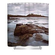 Dunstanburgh Castle II Shower Curtain