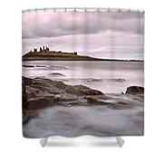 Dunstanburgh Castle IIi Shower Curtain