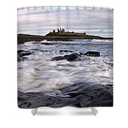Dunstanburgh Castle Iv Shower Curtain