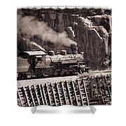 Durango And Silverton Steam Train Shower Curtain