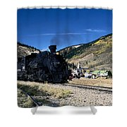 Durango And Silverton Train Shower Curtain